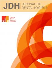 American Dental Hygienists Association: 89 (suppl 1)